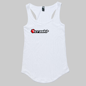 Crankt Ladies Singlet White